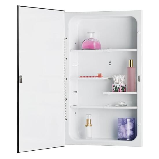 Horizon Recess Mount 1 Door Medicine Cabinet w/ Basic ...