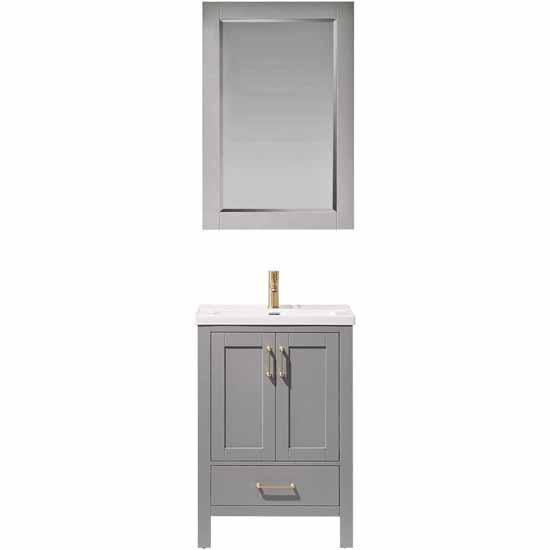 Vinnova Bath Vanity 24'' Gray Display Display