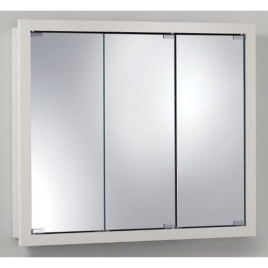 Granville Surface Mount 3 Door Medicine Cabinet W Classic White Finish