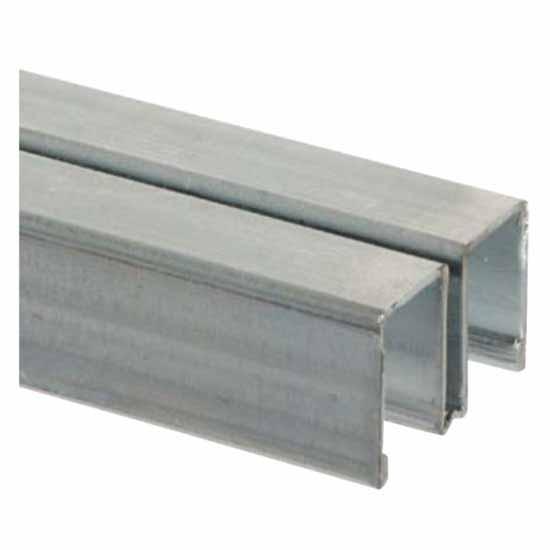 "144"" 993 Steel Upper Channel Guide Track"