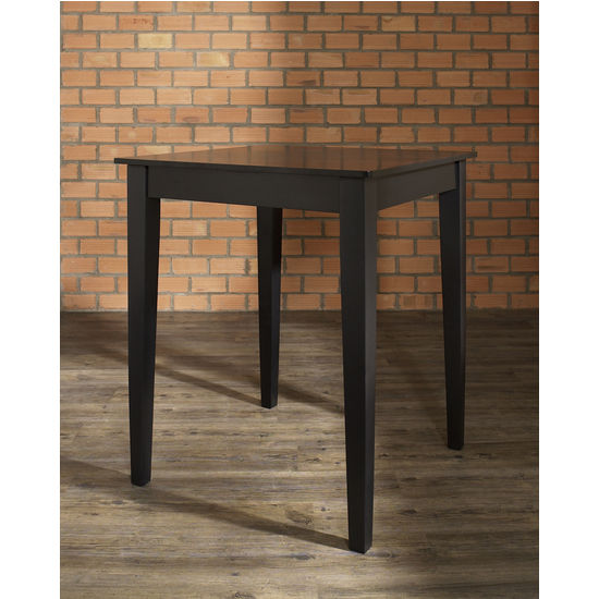 Crosley Furniture Tapered Leg Pub Table