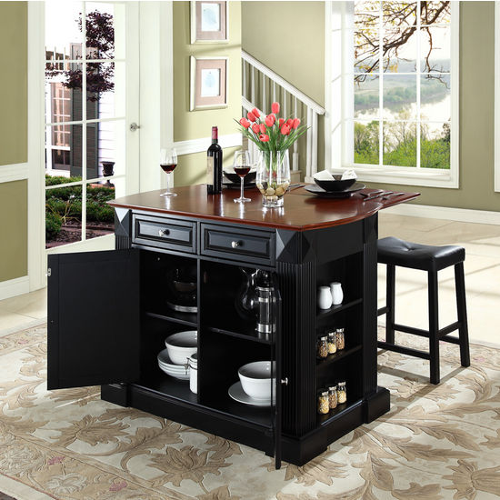 Saddle Bar Stools Kitchen Island