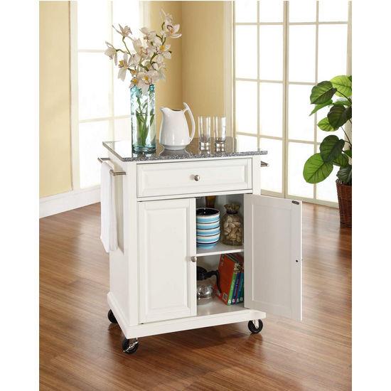 Crosley Furniture Kf30023c Solid Granite Top Portable: Crosley Furniture Solid Granite Top Portable Kitchen Cart