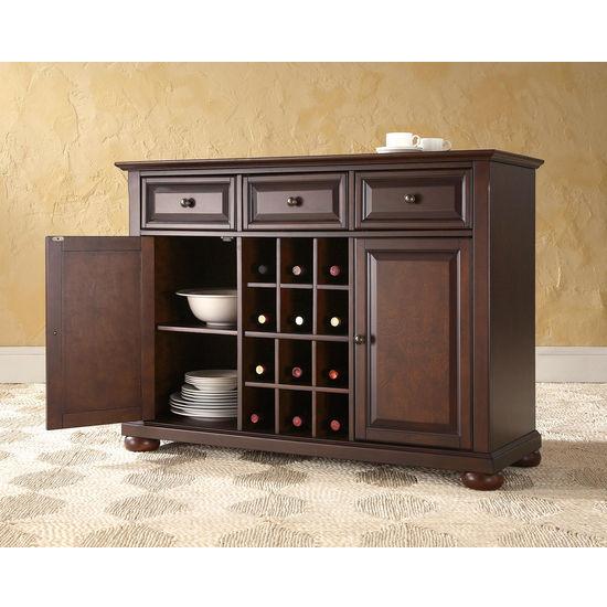 Dining Room Storage Cabinets: Crosley Furniture Alexandria Buffet Server / Sideboard