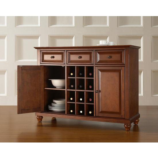 Kitchen Buffets And Servers: Crosley Furniture Cambridge Buffet Server / Sideboard
