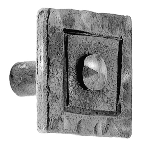 Acorn Manufacturing Iron Art Square Knob