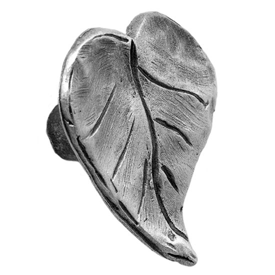 Acorn Manufacturing Solid Pewter Dogwood Leaf Pull Knob