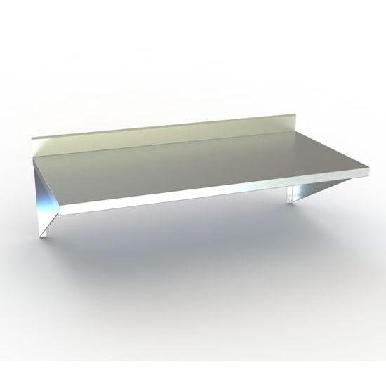 Aero TWMS & TWMB Series Wall-Mounted Table w/ Backsplash