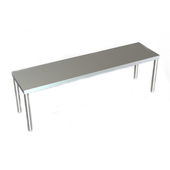 "Aero 10"" Wide O Series Single Overshelf - Table Mounted"