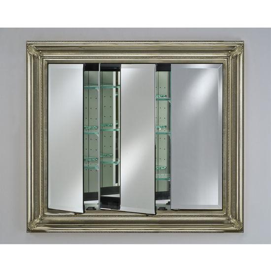 Afina baroque triple door medicine cabinet for Baroque 2 door accent cabinet