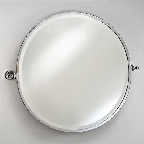 Afina Round Bevel Wall Vanity Mirror