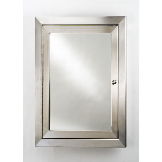 Medicine Cabinets - Metro Cabinet Large in Polished, Satin or ...
