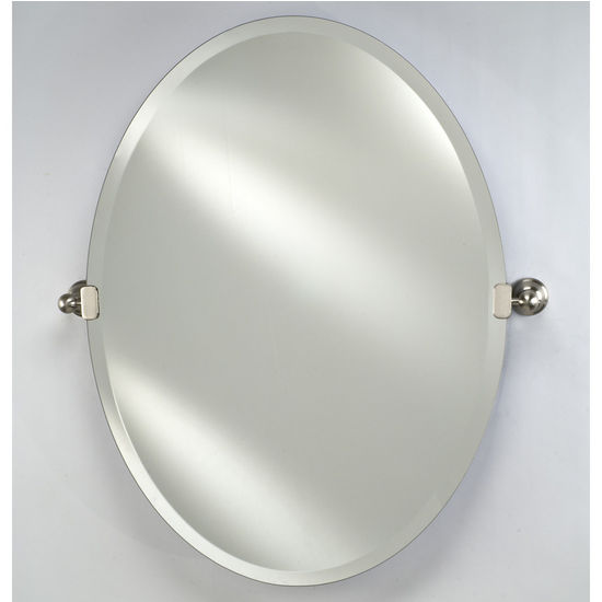 Oval Radiance Bathroom Mirrors By Afina With Or Without