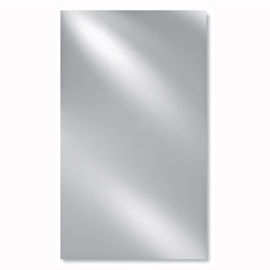 "Afina AF-RM-612-P, Radiance 16"" W -24"" W Rectangular Frameless Polished Edge Wall Mirror with or without Tilt Contemporary Brackets"