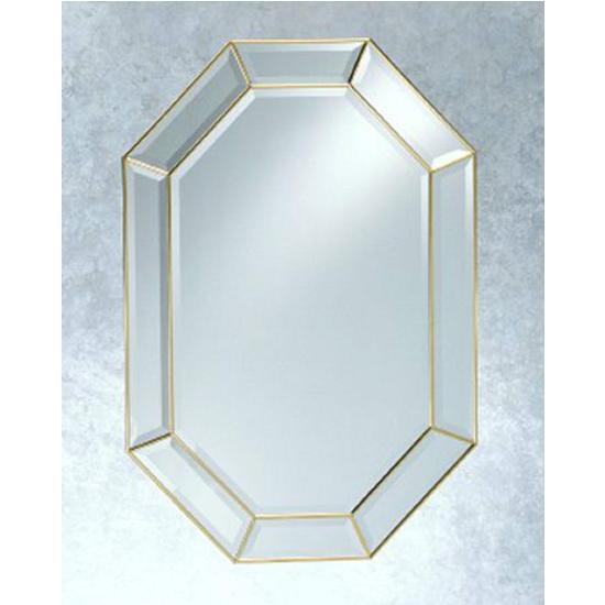 Afina Octangular Wall Mirror