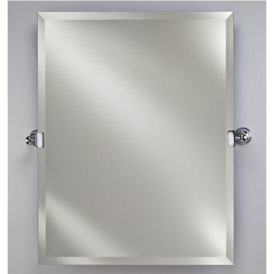 Bathroom Tilt Mirror: Radiance Collection 16'' W To 30'' W Rectangular Frameless