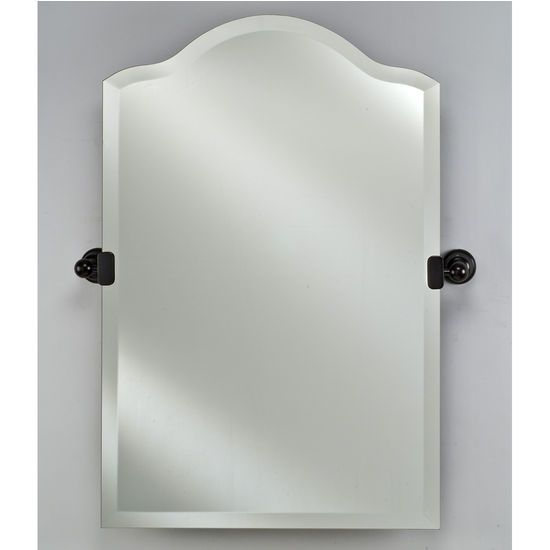 Afina Frameless Radiance Scallop Top Mirror