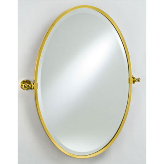 Afina Radiance Framed Oval Mirror