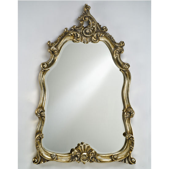 Afina Timeless Traditional Wall Mirror Solid Wood with Intricate Design