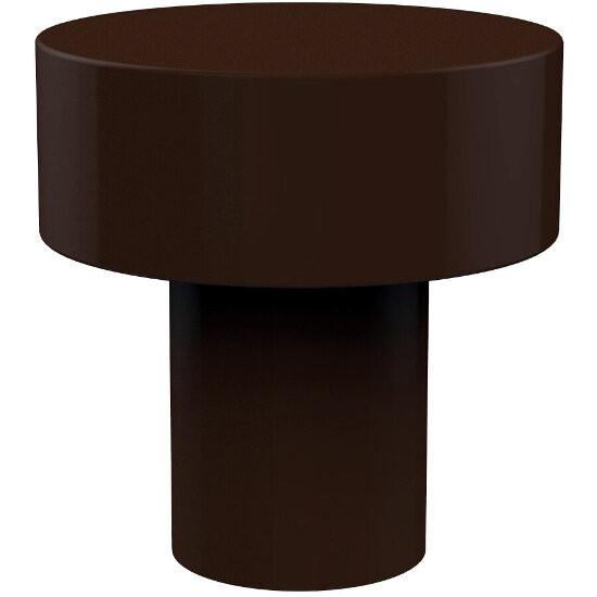 "Allied Brass Designer 1"" Cabinet Knob, Premium Finish, Rustic Bronze"