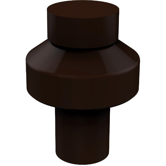 "Allied Brass Designer 1"" Cabinet Knob, Premium Finish, Rustic Bronze"