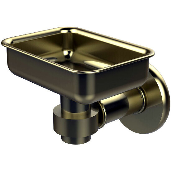 Allied Brass Continental Collection Soap Dish, Premium Finish, Satin Brass