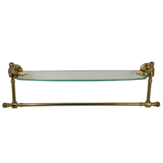 bathroom accessories retro dot glass shelves w towel bar. Black Bedroom Furniture Sets. Home Design Ideas