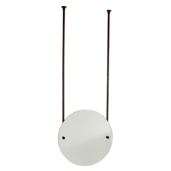 Allied Brass - Round Frameless Ceiling Hung Mirror