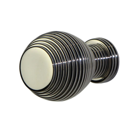 Allied Brass Designer Cabinet Knob, Premium Finish, Polished Nickel