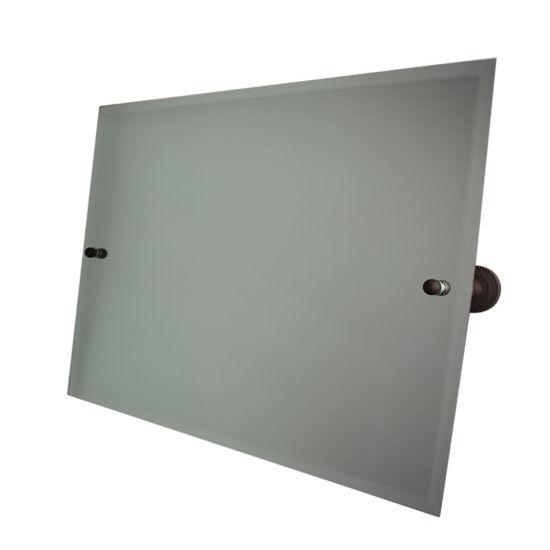 "Allied Brass Dottingham 26"" x 21"" Landscape Rectangular Tilt Mirror"
