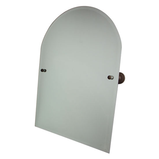 "Allied Brass Dottingham 21"" x 26"" Arched Top Mirror"