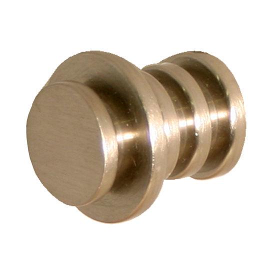 """Allied Brass Designer 1"""" Cabinet Knob, Premium Finish, Satin Nickel"""