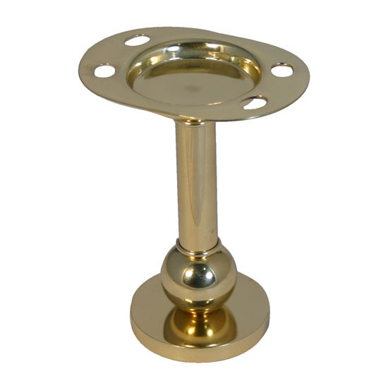 Allied Brass Vanity Top Collection Tumbler/Toothbrush Holder, Standard Finish, Polished Brass