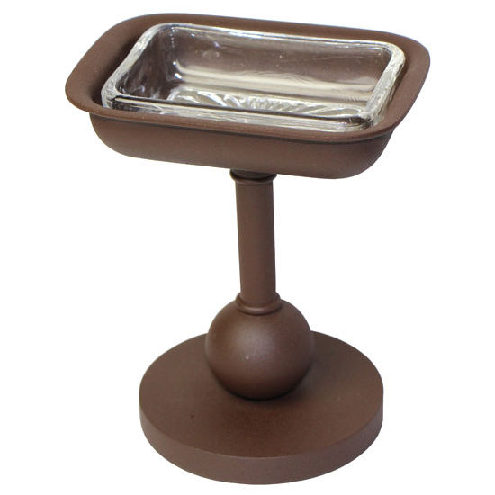 Allied Brass Vanity Top Collection Soap Dish, Premium Finish, Rustic Bronze