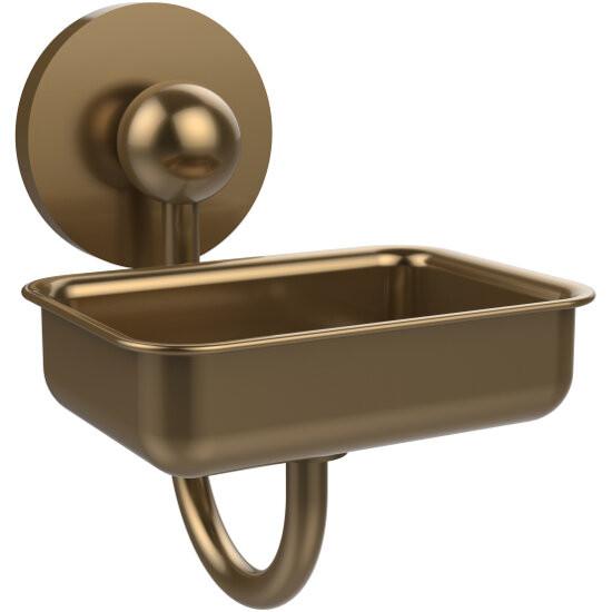 Bathroom Accessories Prestige Skyline Soap Dish W Glass Liner By Allied Brass