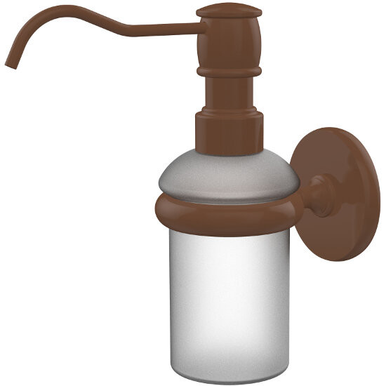 Allied Brass Prestige Skyline Collection Wall Mounted Soap Dispenser, Premium Finish, Rustic Bronze