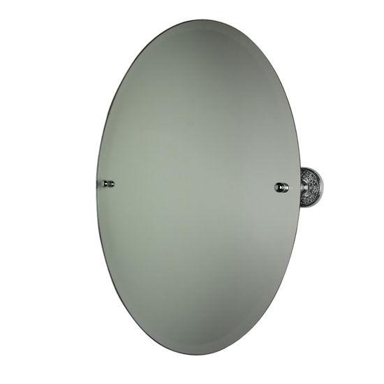 """Allied Brass Prestige Monte Carlo 29"""" x 21"""" Oval Tilt Mirror"""