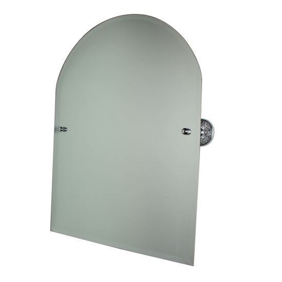 "Allied Brass Prestige Que-New 21"" x 26"" Arched Top Mirror"