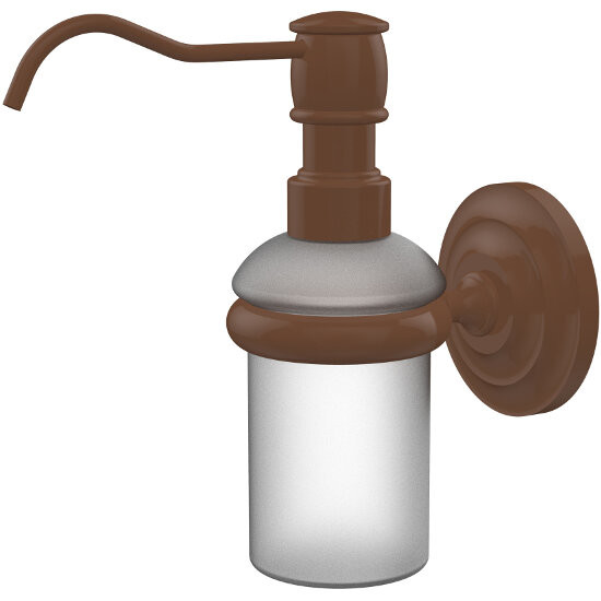 Bathroom Accessories Prestige Que New Wall Mounted Soap Dispenser By Allied Brass