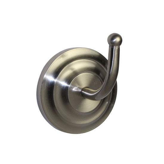 Allied Brass Que New Collection Utility Hook, Premium Finish, Satin Nickel