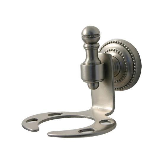 Allied Brass Retro-Dot Collection Tumbler/Toothbrush Holder, Premium Finish, Satin Nickel