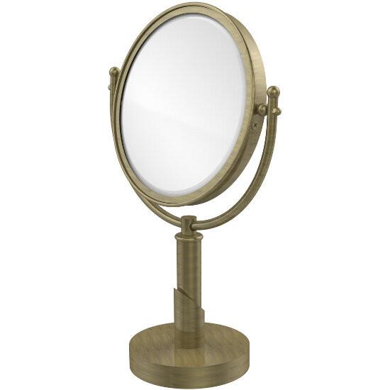2x Magnification, Antique Brass Mirror