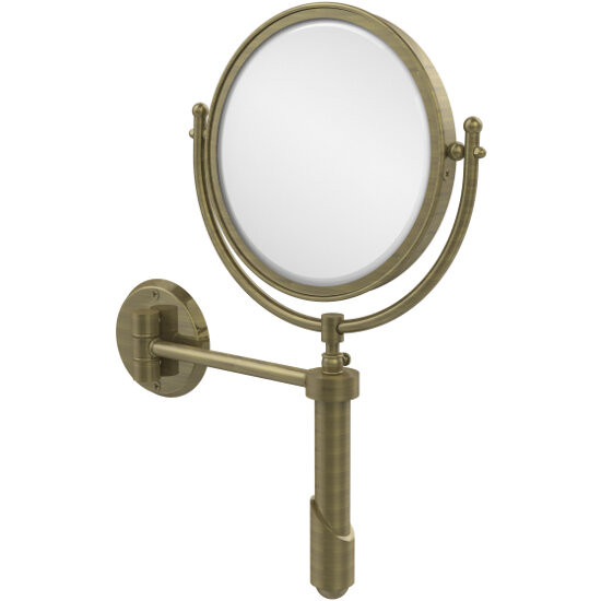 2x Magnification, Antique Brass Mirror
