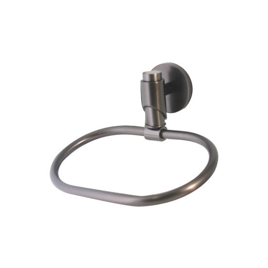 Allied Brass Tribeca Collection Towel Ring, Premium Finish, Oil Rubbed Bronze