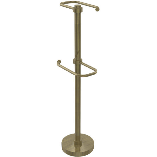Antique Brass Finish with Smooth Detailing