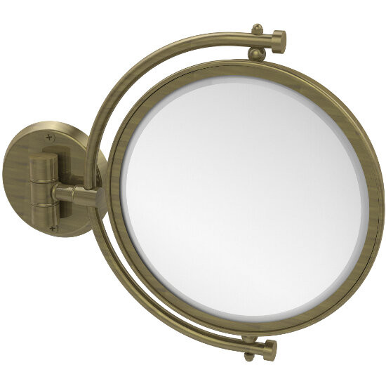 Antique Brass Mirror