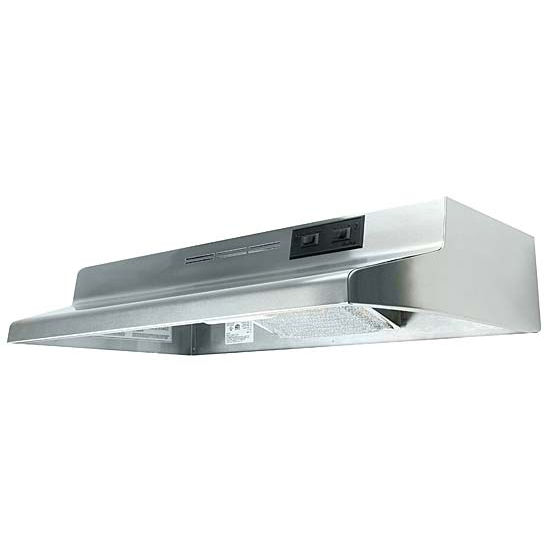 Air King Advantage Series Cabinet Mount Ductless Range Hood, 160 CFM