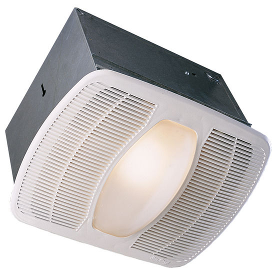 Air King 100 CFM deluxe bathroom exhaust fans with light and nightlight