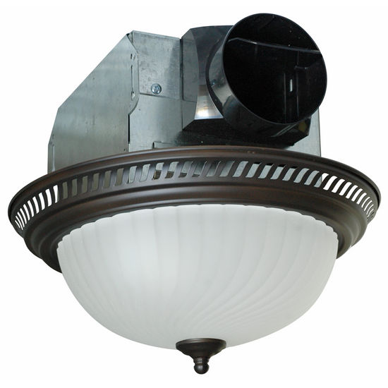 Kitchen Ceiling Exhaust Fan With Light: Air King Quiet Decorative Bathroom Exhaust