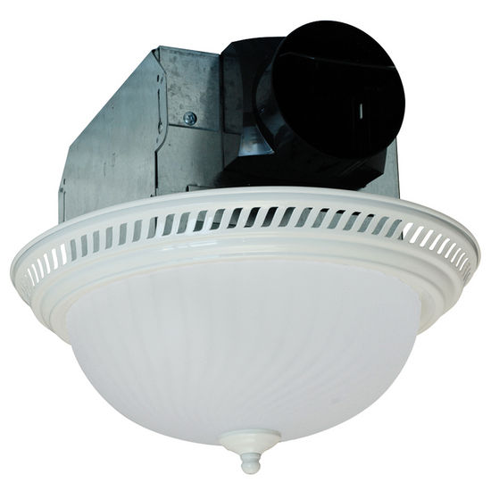 fans air king quiet decorative bathroom exhaust fan w light